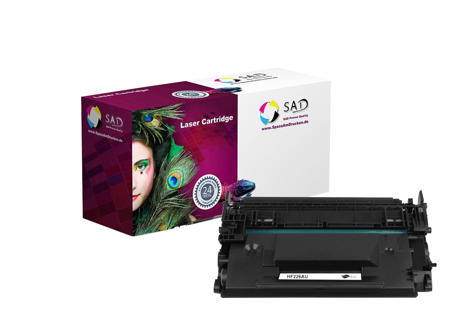 SAD Premium Toner komp. mit HP 26A / CF226A black ca. 3.100 Seiten