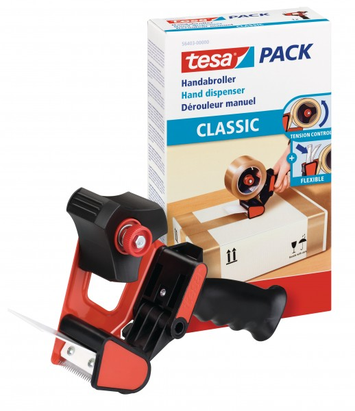 tesa Pack Handabroller classic Packbandabroller