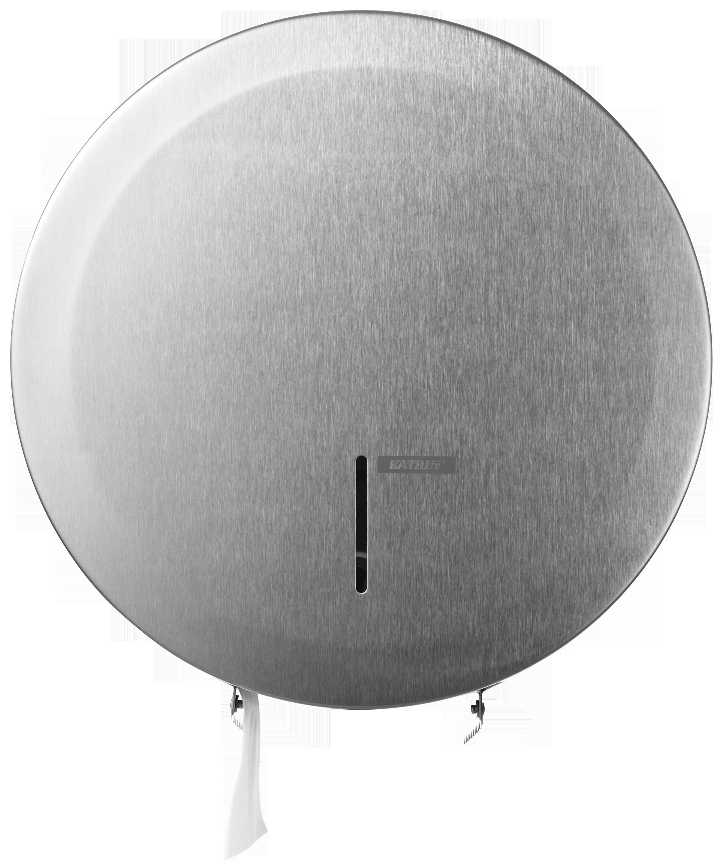 Katrin Toilettenpapierspender Gigantbox L stahl