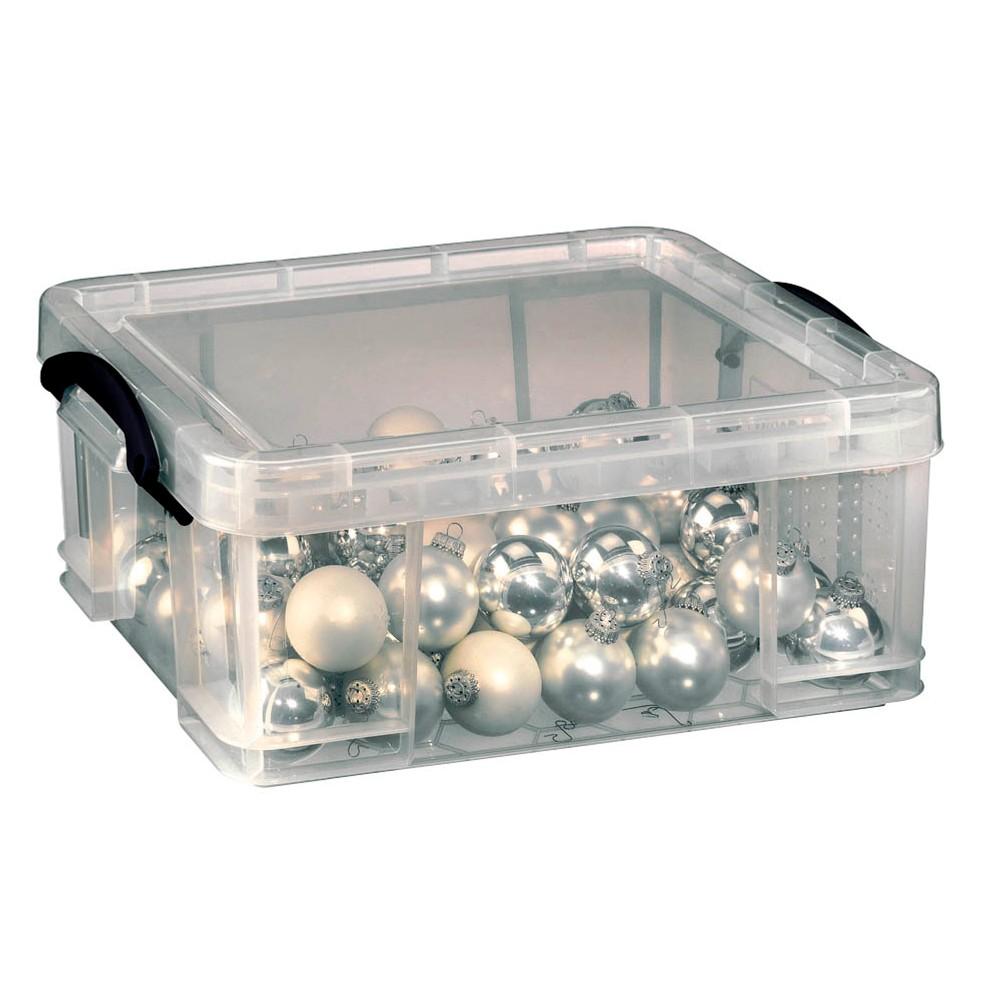 Really Useful Box Aufbewahrungsbox 18,0 l transparent 48,0 x 39,0 x 20,0 cm