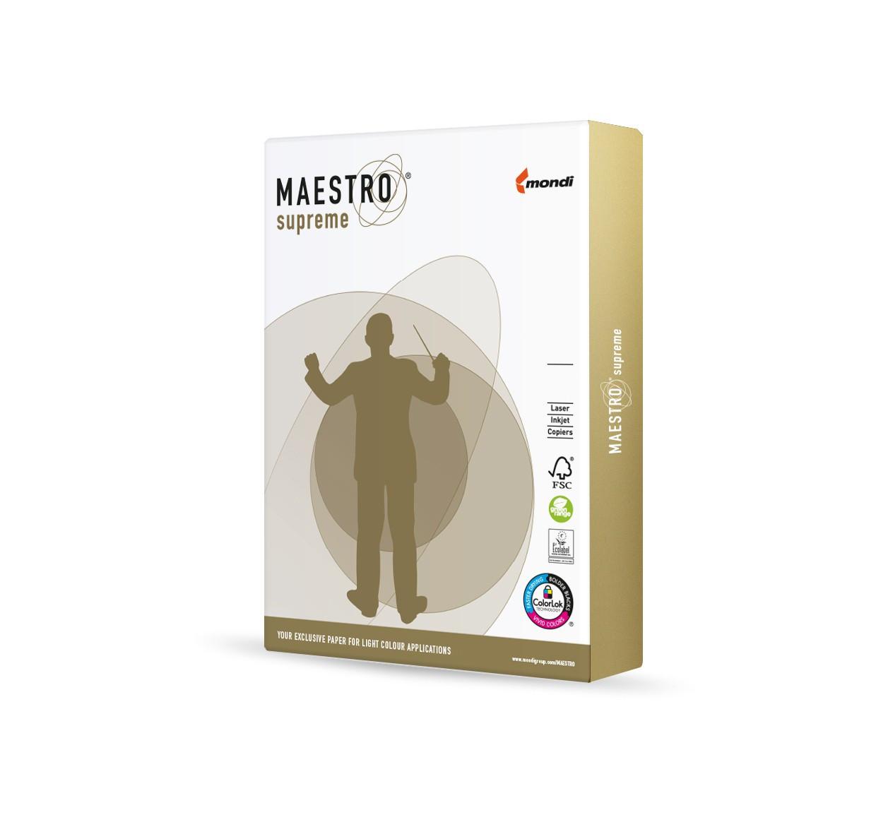 Maestro supreme 80g/m² DIN-A3 - 500 Blatt weiß