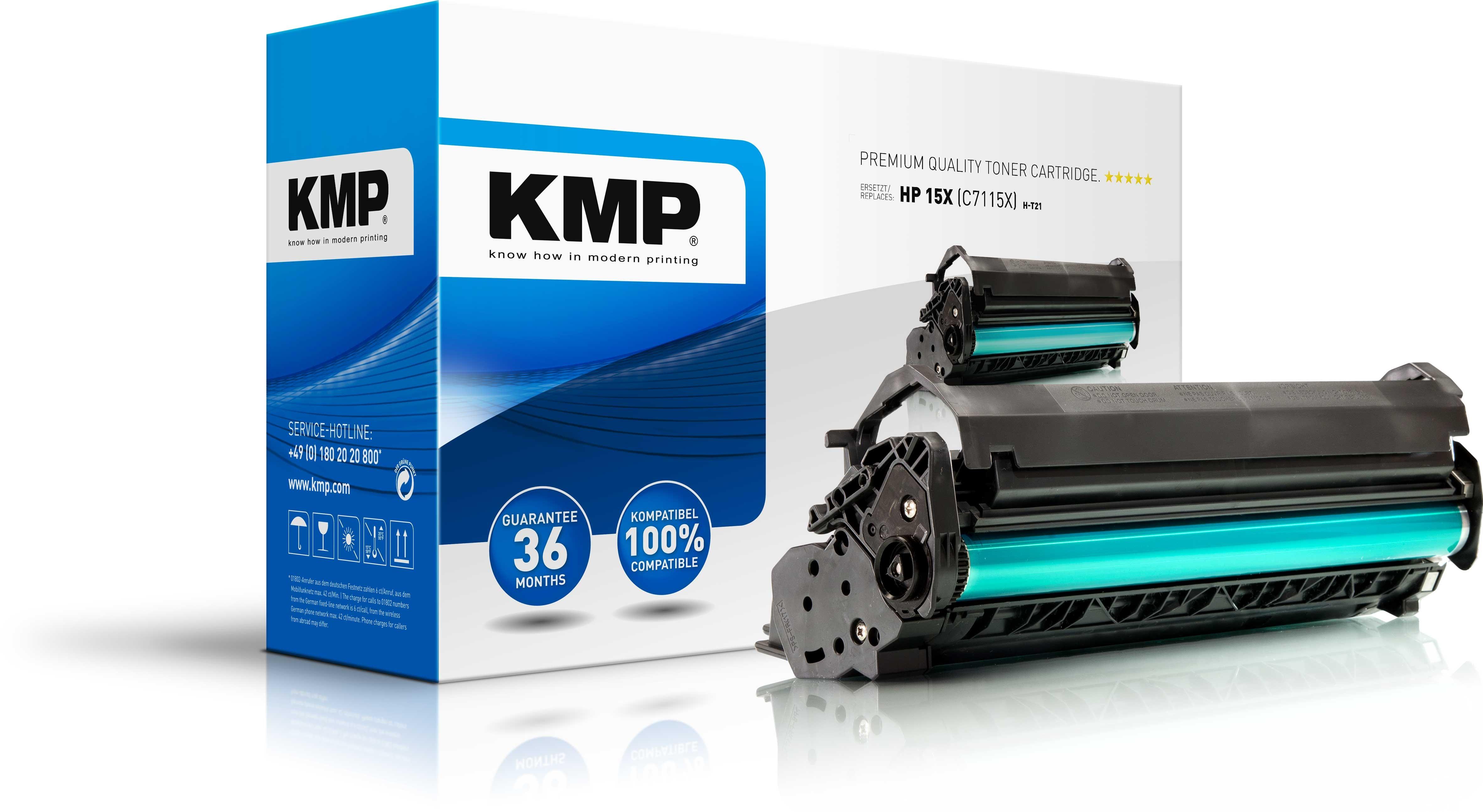 KMP Toner für HP C7115XX Laserjet 1005W/1200/N/3300 MFP XXL
