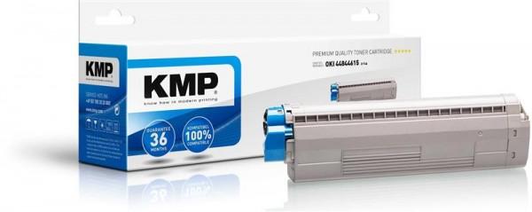 KMP Toner O-T46 kompatibel mit 44844615 für OKI C822CDTN etc. cyan