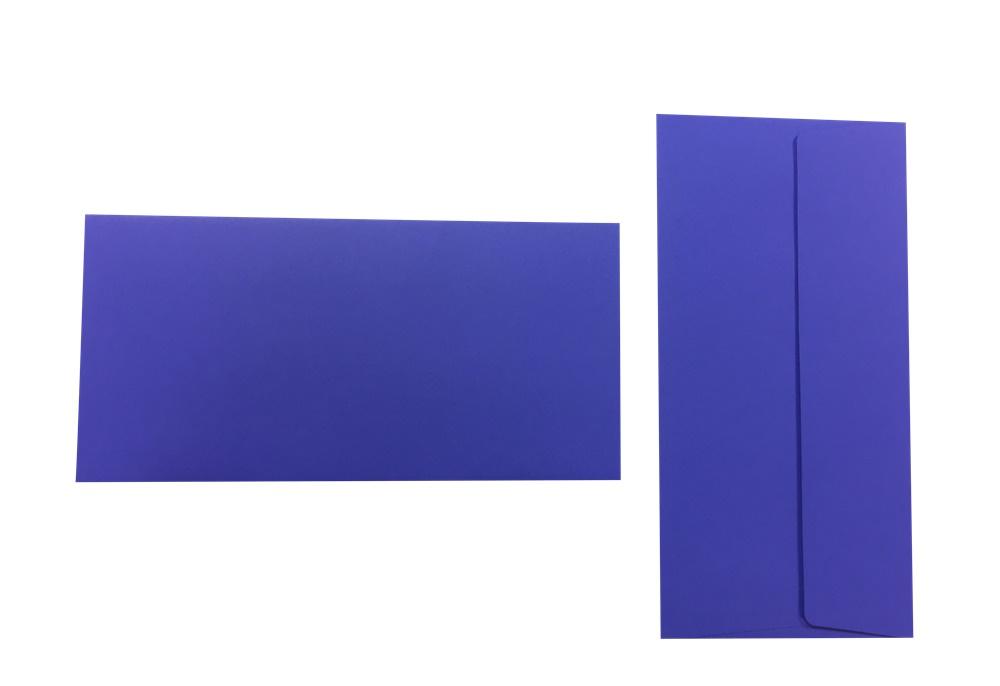 Pop'Set Umschläge DIN Lang violett 120g/m² 100 Stück