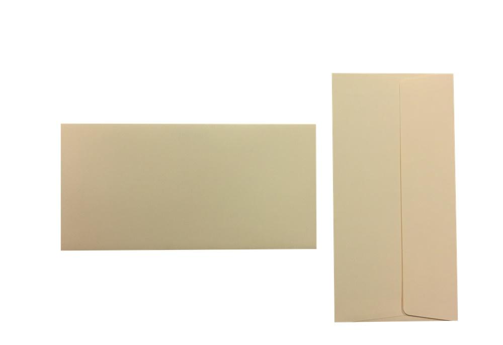 Pop'Set Umschläge DIN Lang vanille 120g/m² 100 Stück