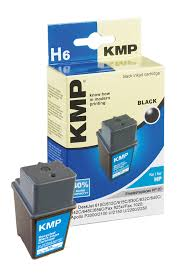 KMP Patrone H6 komp. zu HP 20 C6614D DeskJet 610C 615C black