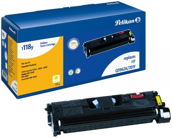 Pelikan Toner 1118 HC komp. zu Q3962A HP Color LaserJet 2550 yellow