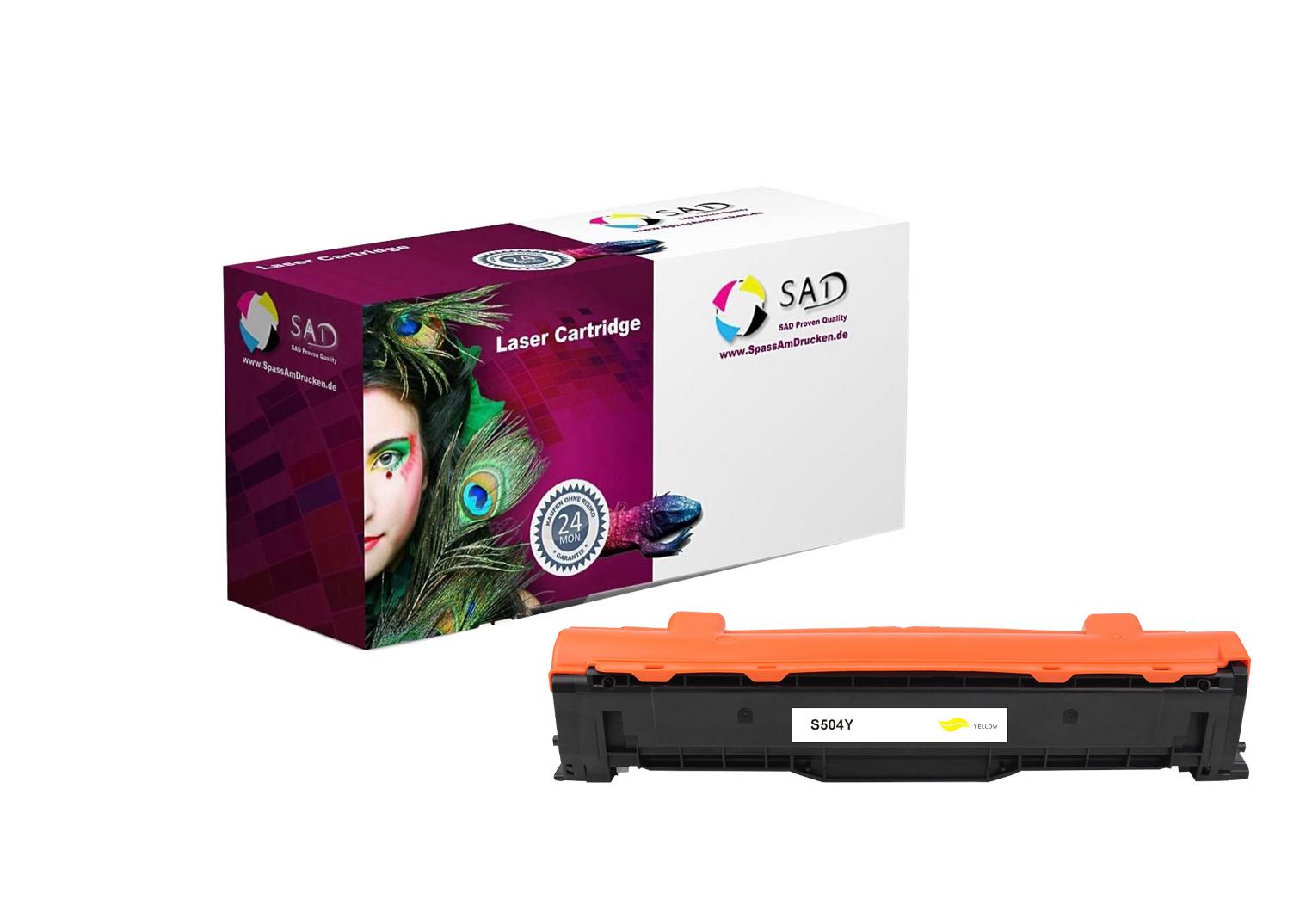 SAD Premium Toner komp. zu Samsung CLT-M504S/ELS - Y504S zu CLP 415N etc. yellow