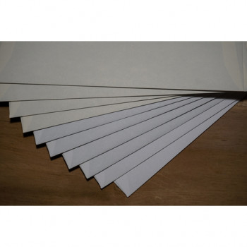 Antinoë Brut Briefhüllen, Ausstattungs-Briefumschlag, 110 g/m², 11 cm x 22 cm SB, polarweiß, Fenster