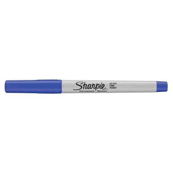 """Sharpie Permanentmarkerset """"Pfau"""", 20 feine + 8 ultrafeine Spitze, farblich sortiert, 28 Stück"""