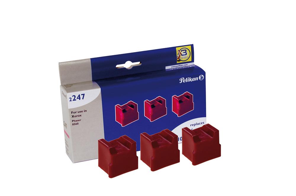 Pelikan Festtinte 2247 komp. zu 108R00724 Xerox Phaser 8560 magenta