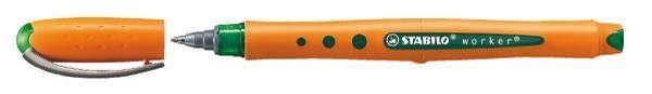 Stabilo® Tintenroller worker® fine, 0,5 mm, grün