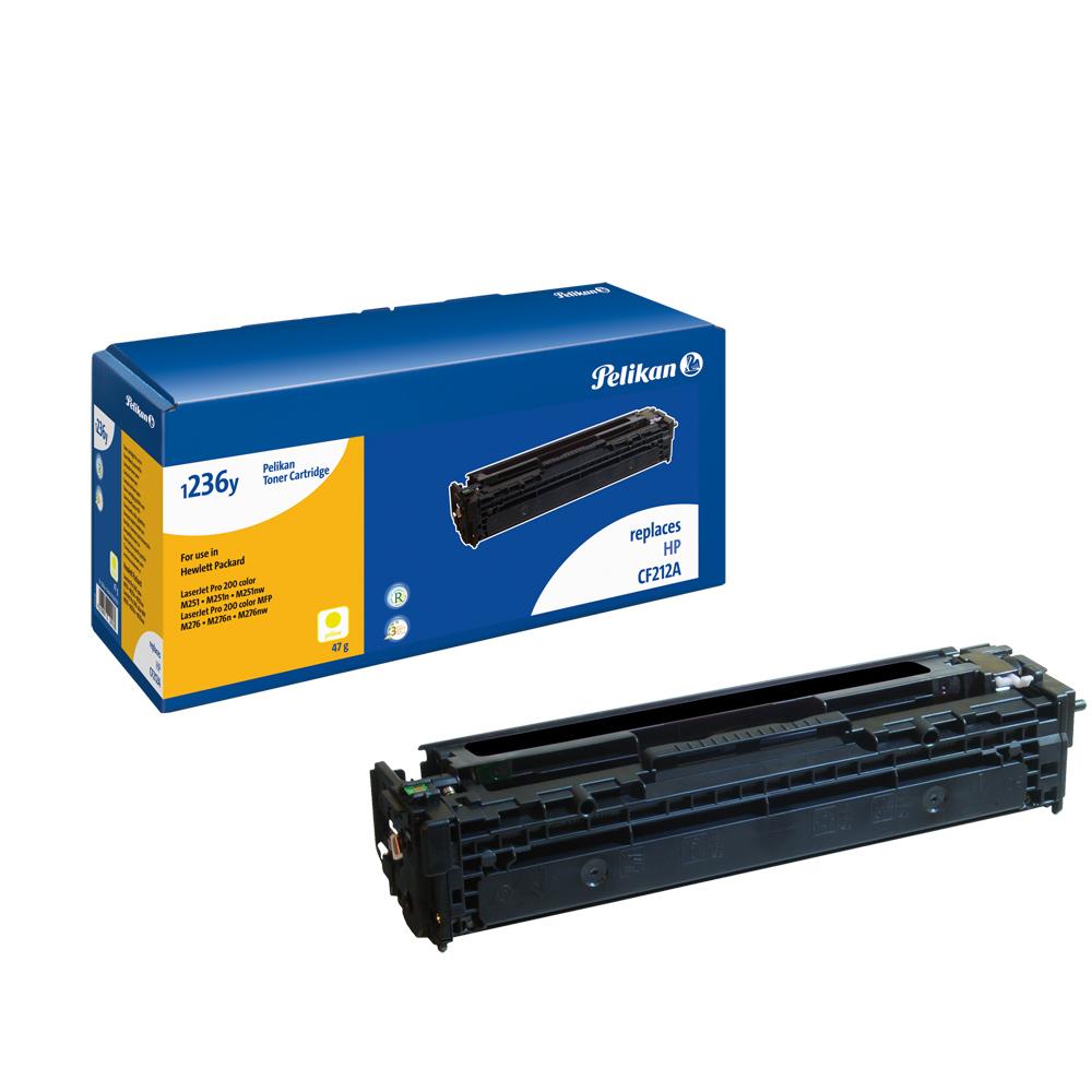 Pelikan Toner 1236y für HP CF212A LaserJet Pro M276n etc. yellow