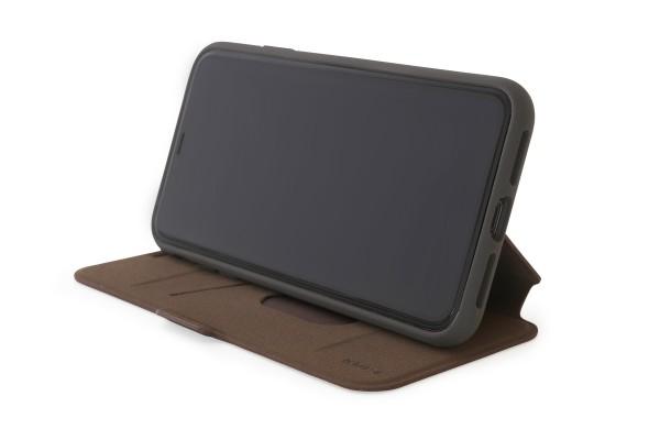 KMP Bookcase für iPhone XS Max-choco brown