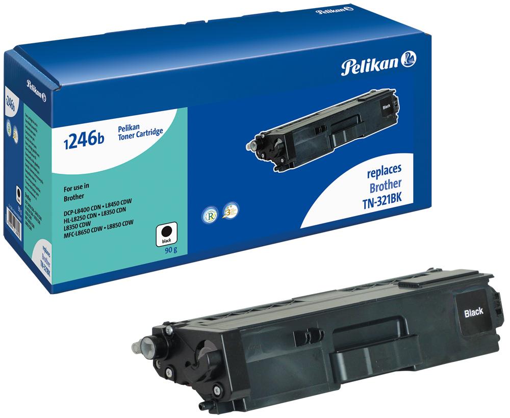 Pelikan Toner komp. zu TN-321BK Brother DCP-L8400 CDN etc. black