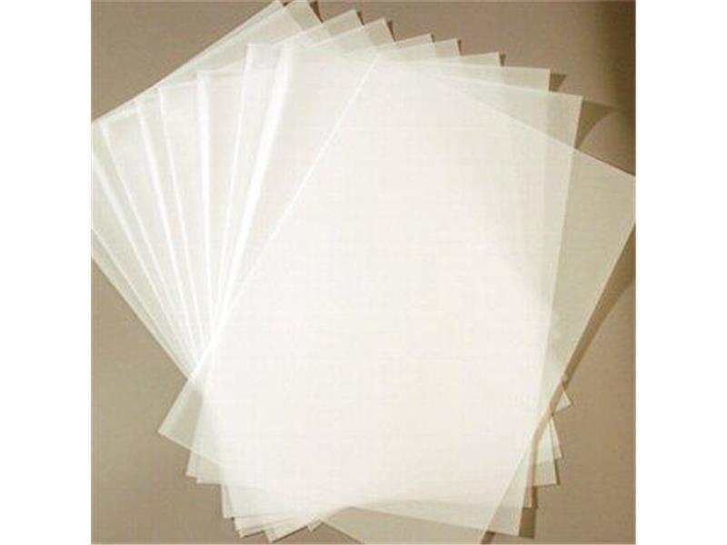 100 Blatt Transparentpapier Zanders T2000 DIN A4 150 g/qm Super Qualität klar-weiß durchscheinend