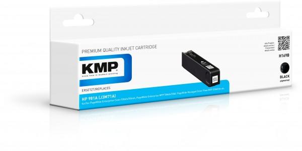 KMP Patrone H169B für (J3M71A) HP 981A HP PageWide Enterprise Color 550 Series HP PageWide Enterpris