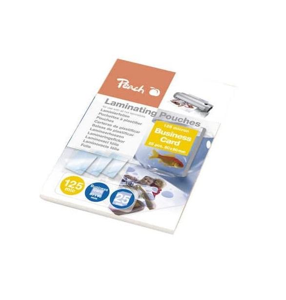 Peach Laminierfolien Business Card 125 mic glänzend PPR525-08 25 Stück