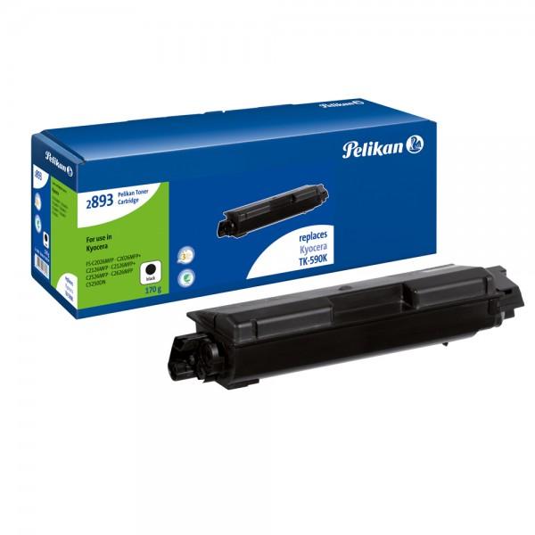 Pelikan Toner 2893b komp. zu TK-590K Kyocera FS-C5250 etc. black