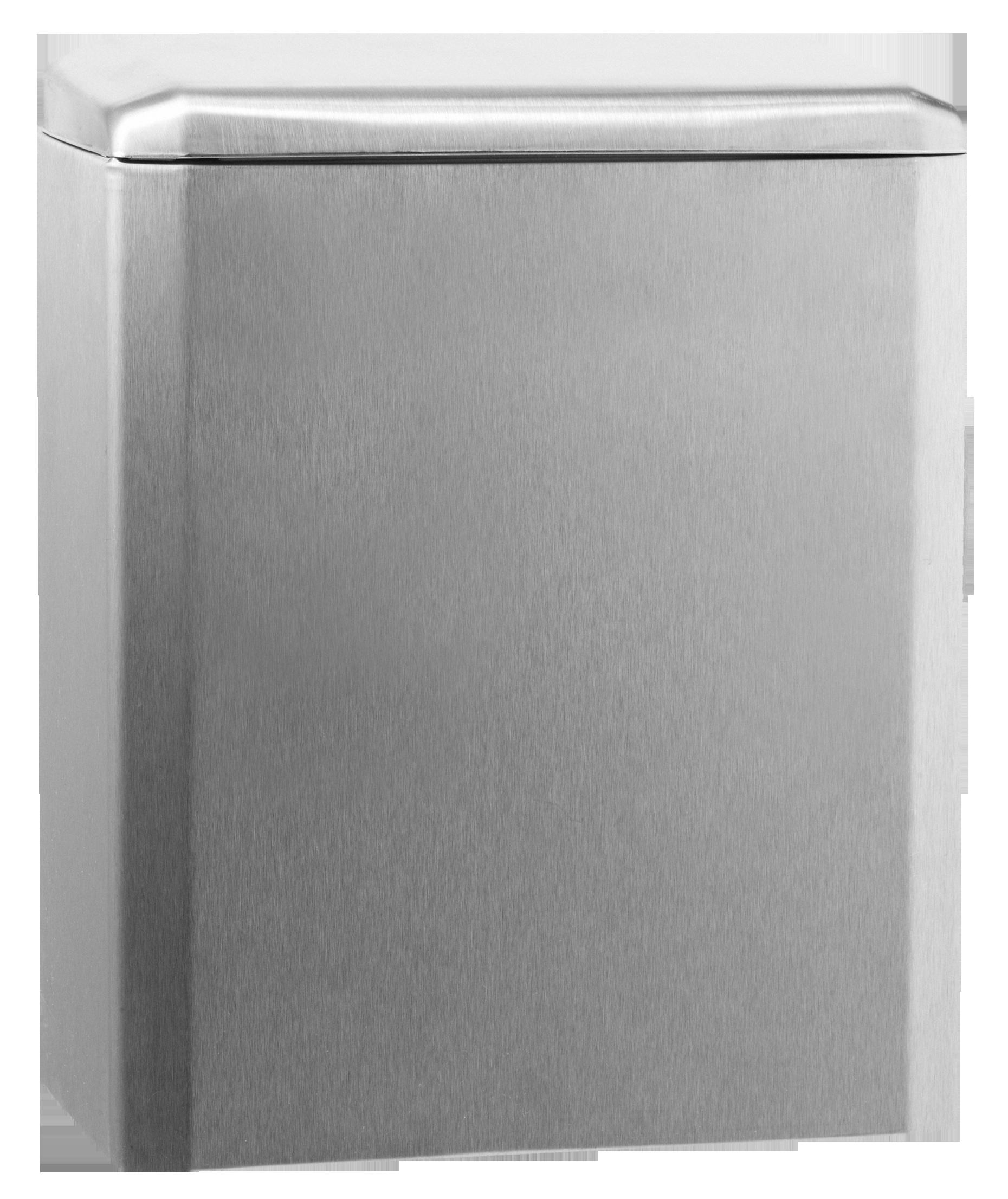 Katrin Hygiene Abfallbehälter 6 Liter stahl