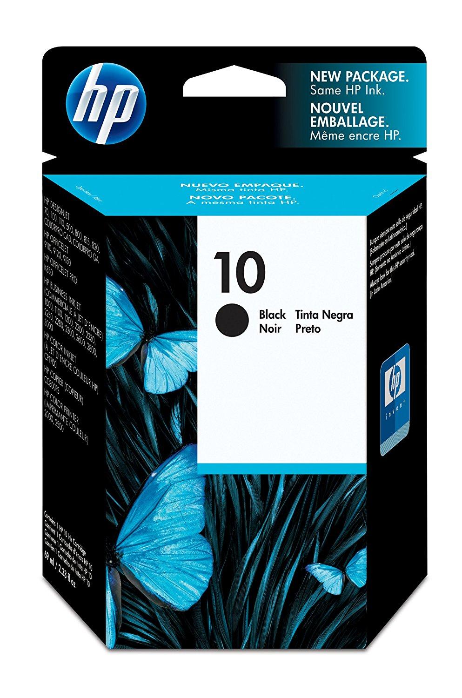 HP Tintenpatrone C4844A Nr.10 für Deskjet 2000 C etc. black