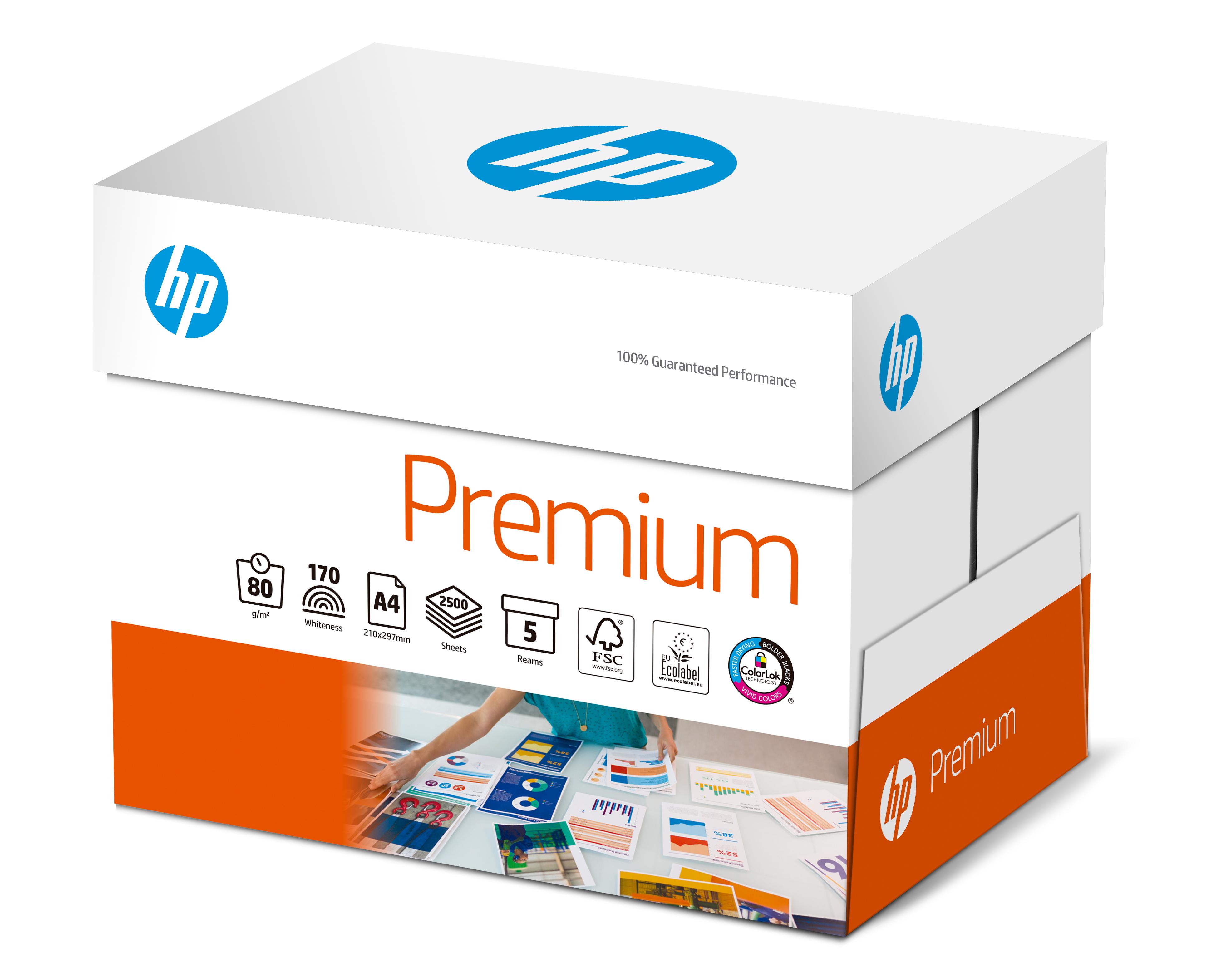 5000 Blatt HP Premium ( früher Printing InkJet CHP210) Papier CHP850 80g/m² DIN-A4