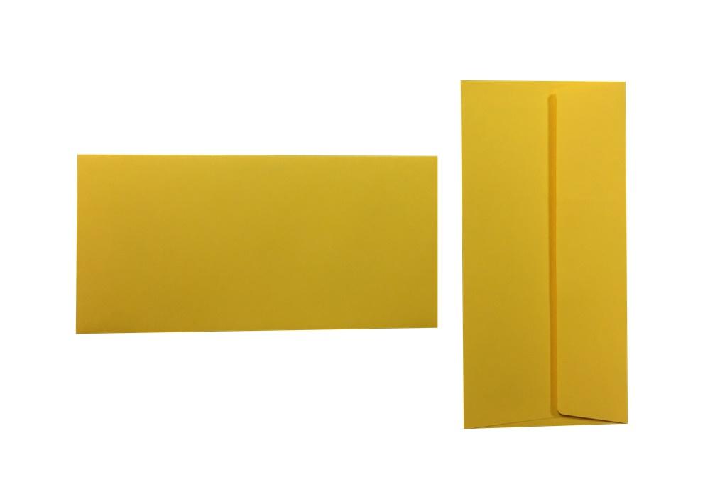Pop'Set Umschläge DIN Lang goldgelb 120g/m² 100 Stück