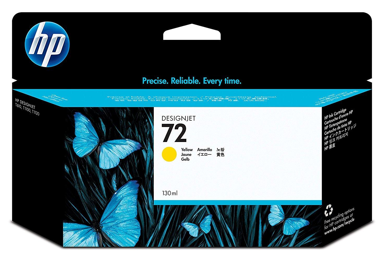 HP Tintenpatrone C9373A  Nr. 72 für Deskjet T 1100 etc.yellow