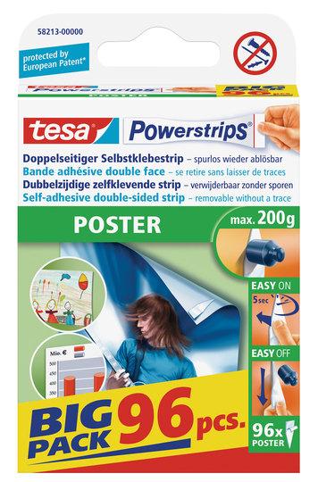tesa Powerstrips Poster Big Pack, 96 Stk