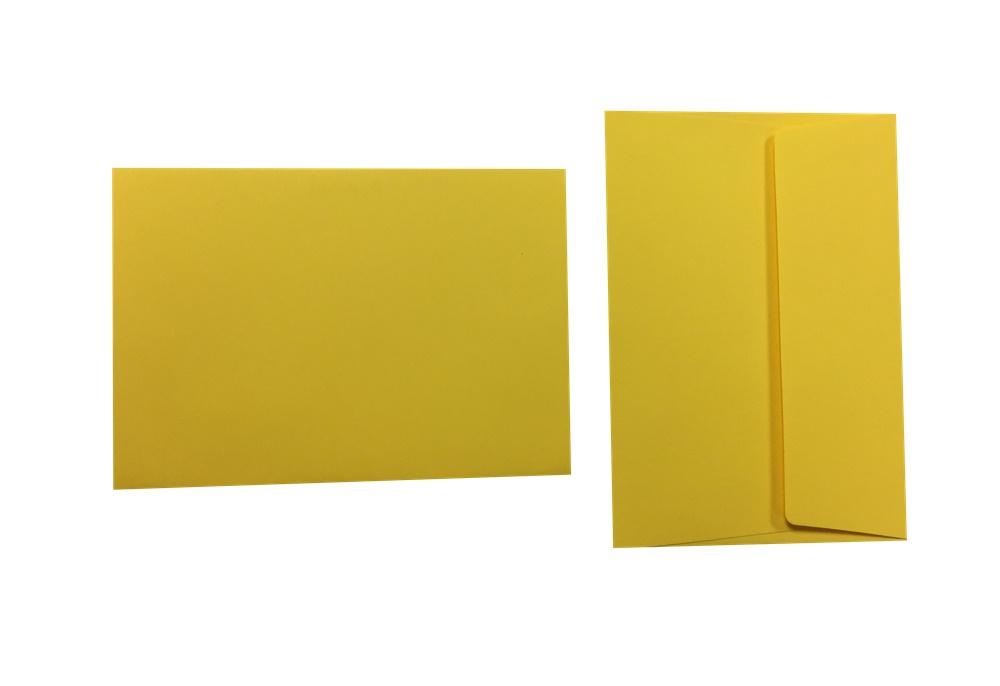 Pop'Set Umschläge C6 goldgelb 120g/m² 500 Stück