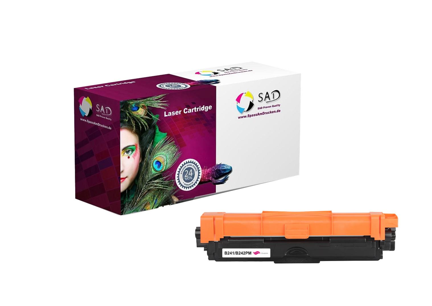 SAD Premium Toner komp. zu Brother TN-241M / TN-242M magenta ca. 1.400 Seiten