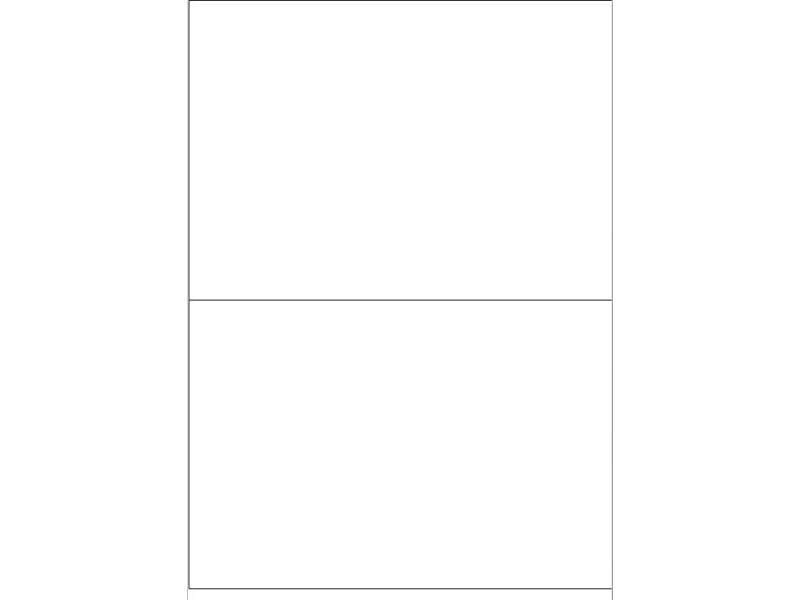 Igepa Etiketten 210,0 x 148,0 mm 100 Blatt in weiß
