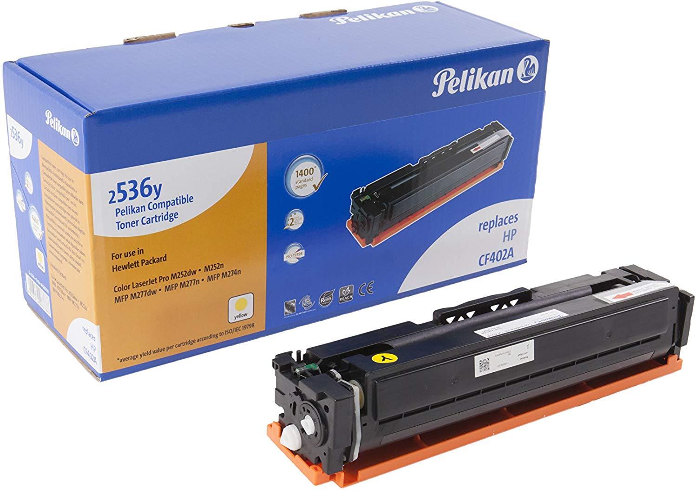 Pelikan Toner ersetzt HP CF402A, Yellow, 1400 Seiten