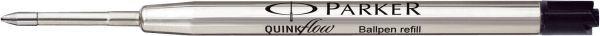 Parker Kugelschreibermine QUINKflow - dokumentenecht, M, schwarz
