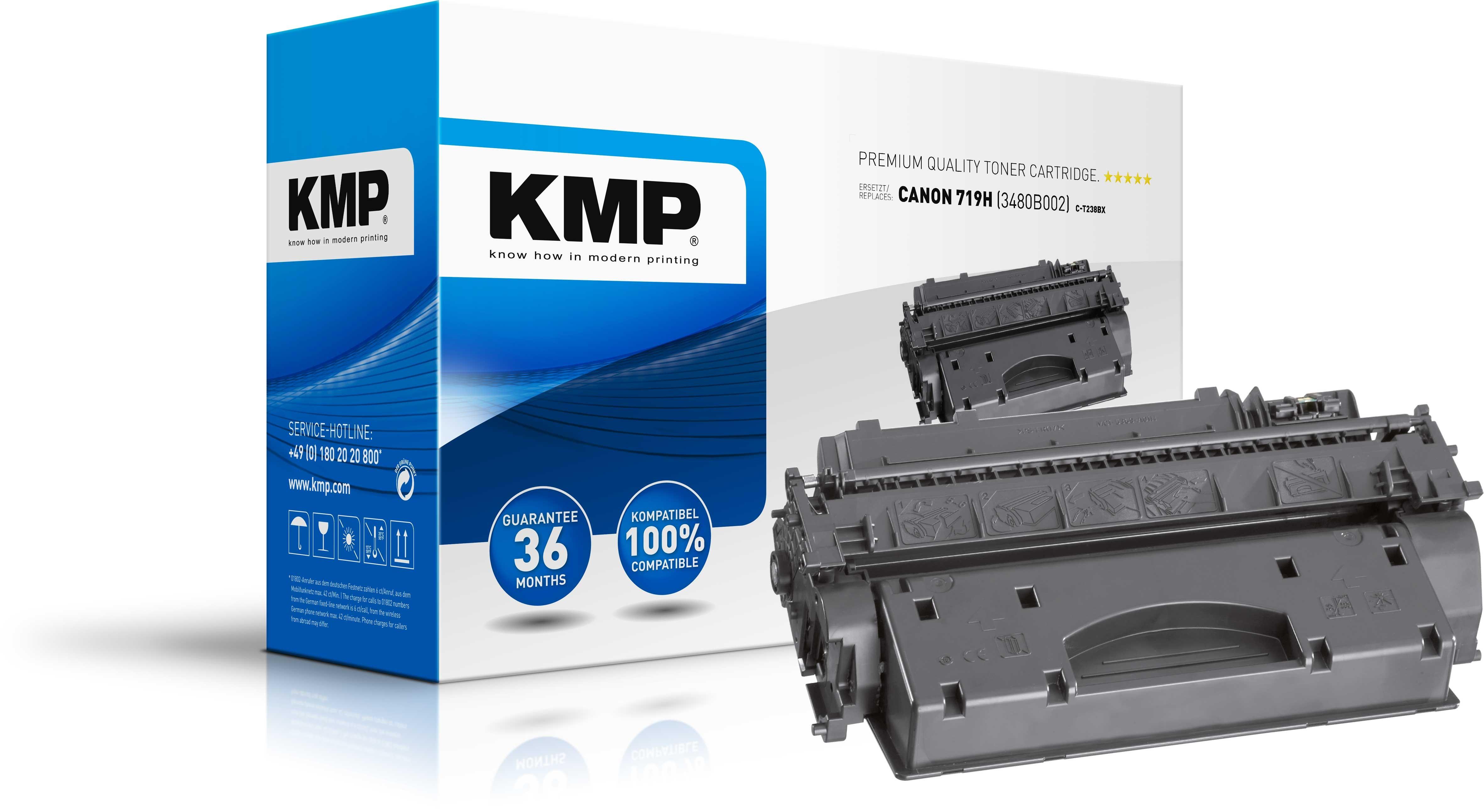 KMP Toner C-T238BX für Canon 9H  I-Sensys LBP-6300 schwarz