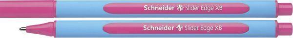 Schneider Kugelschreiber Slider Edge - Kappenmodell, XB, rosa