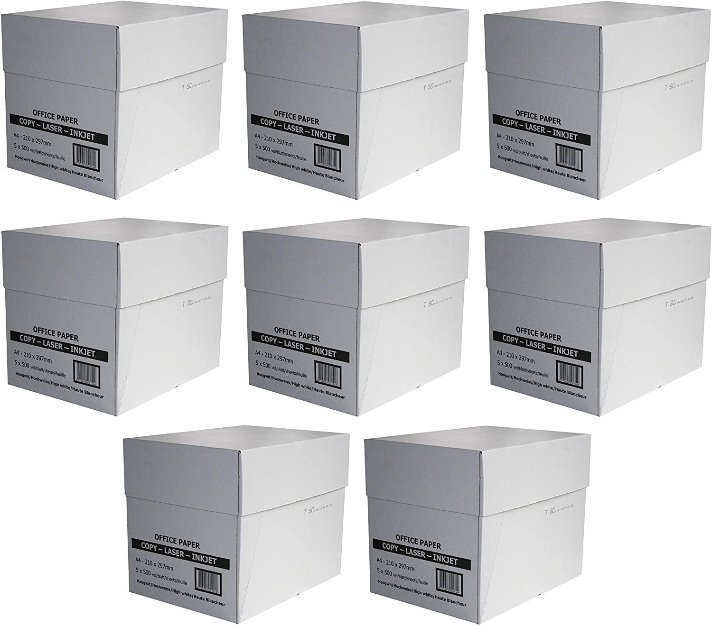 20.000 Blatt SAD Standard Kopierpapier 75g/m² DIN-A4 weiß