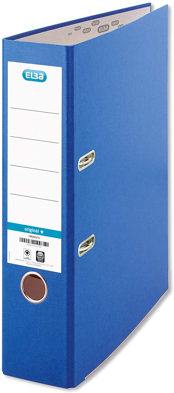 ELBA 100202215 Ordner smart Original Papier 8 cm breit DIN A4 Blau