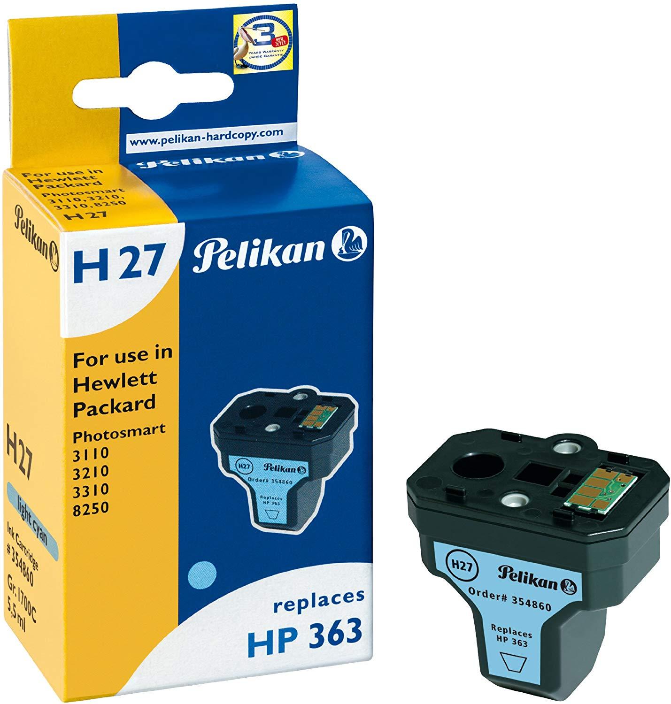 Pelikan Tintenpatrone ersetzt HP C8774EE, light Cyan, 9700 Seiten