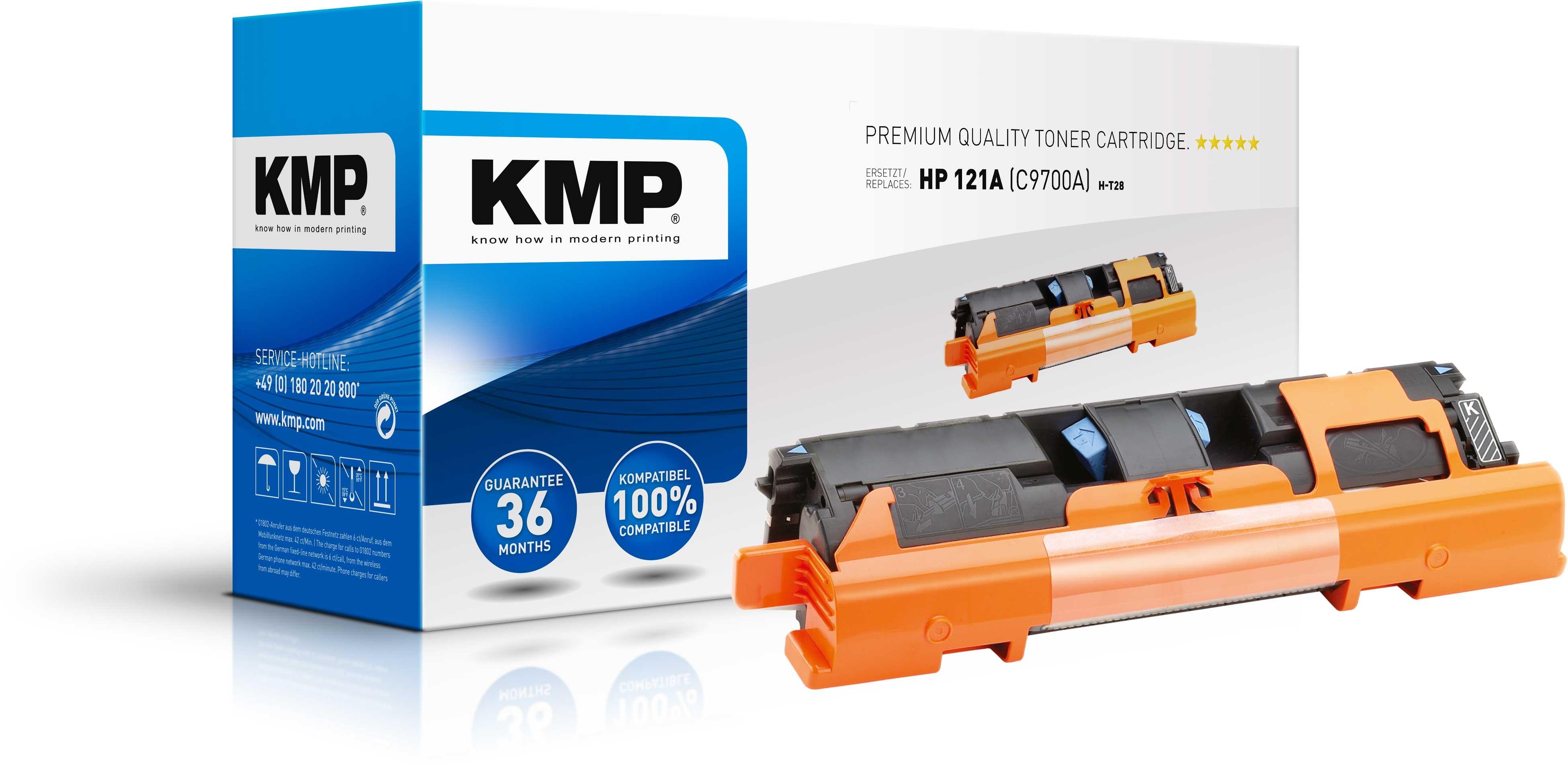Vorschau: KMP Toner für HP C9700A Color Laserjet 1500 / 2500 Series black