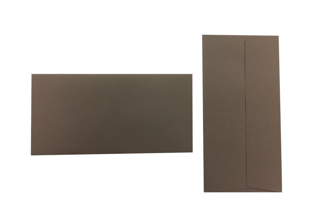 Pop'Set Umschläge DIN Lang dunkelgrau 120g/m² 100 Stück