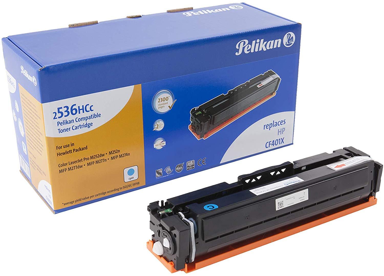 Pelikan Toner ersetzt HP CF401X, Cyan, 2300 Seiten