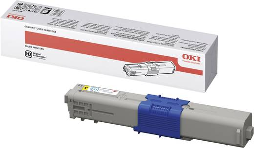 Original OKI Toner 44469722 für C511 / C531 yellow