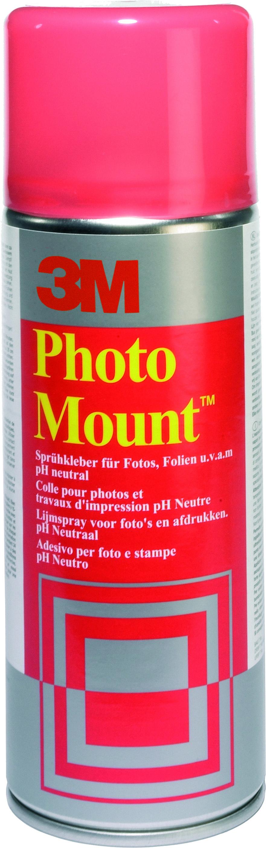 Vorschau: GP: 44,95 EUR/Liter 3M Sprühkleber Photo Mount 400 ml. - starker Haftkraft