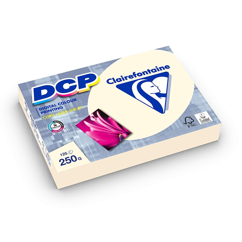Clairefontaine DCP elfenbein IVORY 250g/m² DIN-A4 625 Blatt 6832C