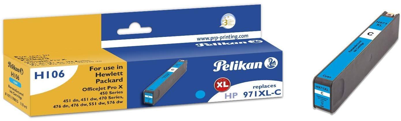 Pelikan Tintenpatrone ersetzt HP CN626AE, Cyan, 6600 Seiten