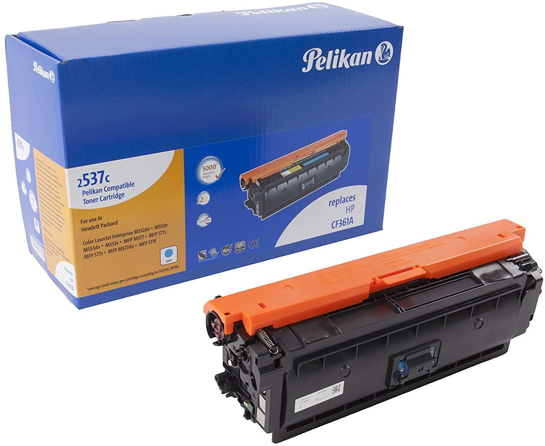 Pelikan Toner ersetzt HP CF361A, Cyan, 5000 Seiten