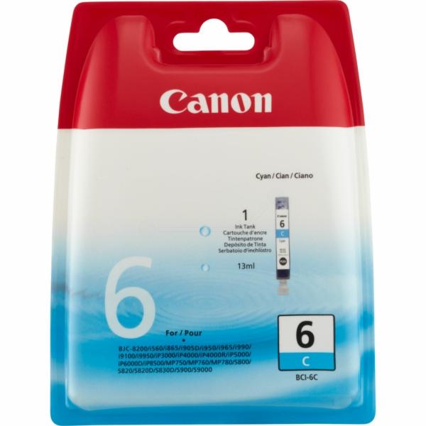 Vorschau: Original Canon BCI-6C Patrone Pixma iP 4000 5000 6000 cyan