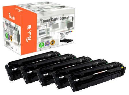Peach Spar Pack Plus Tonermodule kompatibel zu HP No. 201X, CF400X*2, CF401X, CF403X, CF402X