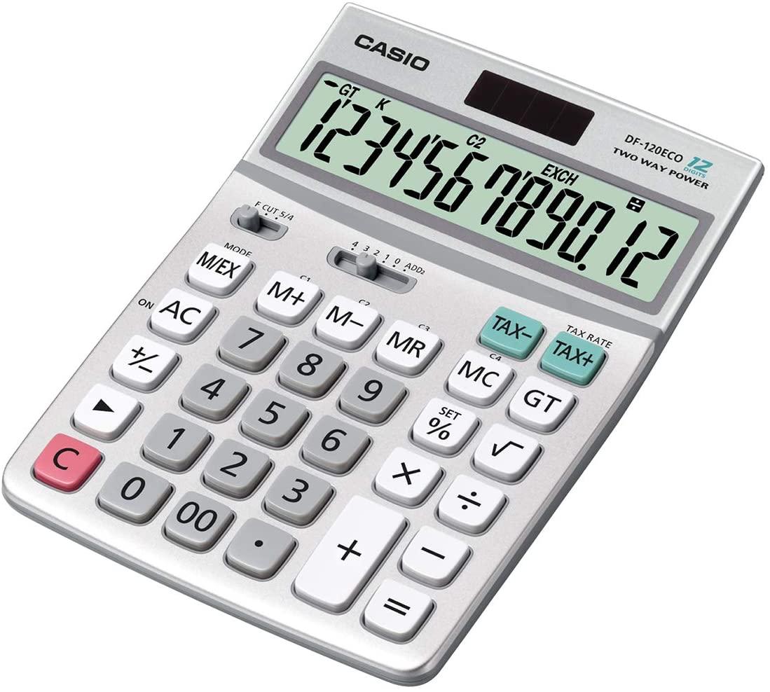 CASIO DF-120ECO Tischrechner